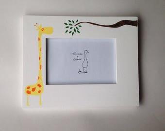 Stretch Your Neck-Giraffe Frame
