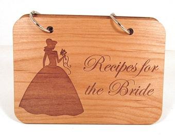 Wedding Recipe Book - Recipes for the Bride - Bridal Shower Recipe Book