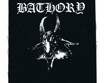 Bathory Black Metal Band Patch