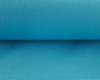 Plain Turquoise 100% cotton fabric