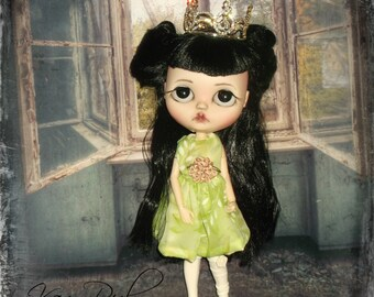 Blythe ~  Party Dress ~ Vintage Chiffon  ~1950's  Inspired  ~   by KarynRuby