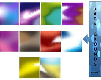 Background Clip Art - Digital Scrapbook - Instant Download - Digital Graphics - Clip Art Graphics - Scrapbook - Digital Download