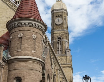 Historic St. Stanislaus Roman Catholic Church Milwaukee Wisconsin Urban Architecture Fine Art Photography by Rose Clearfield on Etsy