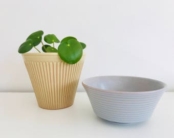 Two Midcentury Dutch Design Planters Erica and ...