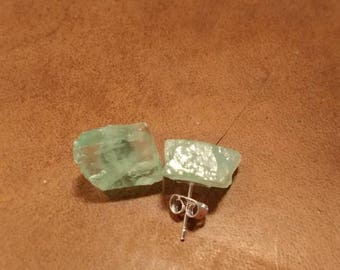 Green Calcite earrings
