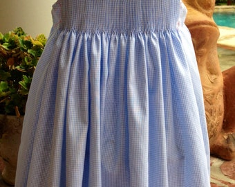 Girls' Ready to Smock Sundress. Sizes 1-6. Made to order