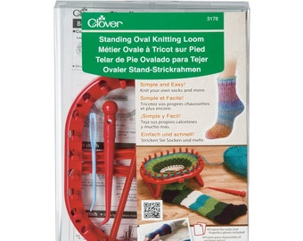 Clover Standing Oval Knitting Loom Part No. 3178