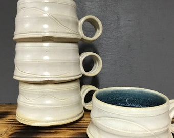 Hand thrown Coffee cup