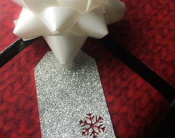 Snowflake Gift Tags • Christmas Gift Tags • Party Favor Tags • Christmas Wrapping • Christmas Decor
