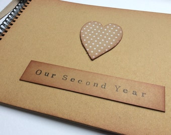 Second year anniversary gift / for husband / wife / girlfriend / boyfriend / gift for second year / cotton anniversary / cotton gift
