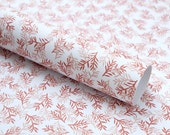 Gift Wrapping Paper, Conifer rose, ecofriendly, 3 sheets, Rose Wrapping Paper floral, Christmas Wrapping Paper, Flowered Gift Wrap Recycling