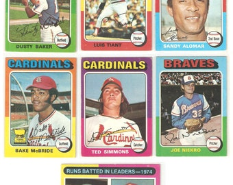 1975 Topps 325 Card Lot VG-EX Blowout