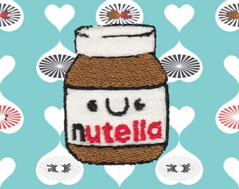 Nutella Jar Patch