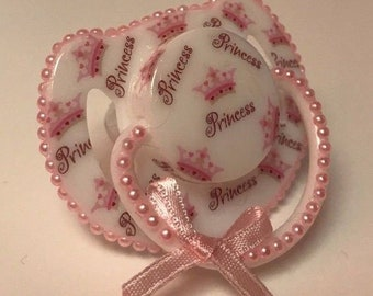 Princess  magnetic reborn doll dummy pacifier