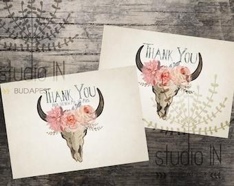 Thank you sign printable,wedding thank you sign,bohemian thank you printable,rustic thank you sign,rustic wedding printable,INSTANT DOWNLOAD