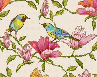"""Fabric by the yard """"Marjory Belle"""" Home Decor Fabric"""