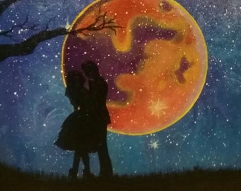 Lover's under the moon