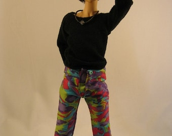MSD Boy Multi-Colored Leopard Print Pants CLEARANCE Price