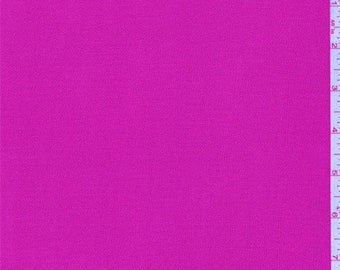 Hot Pink Rayon Gauze, Fabric By The Yard