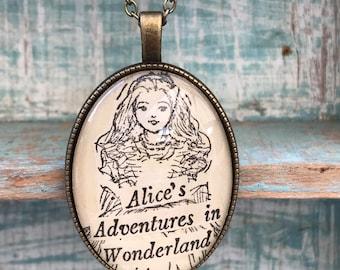 Alice's Adventures in Wonderland Necklace