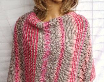 Cotton-Merino Wool stole