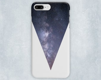 Star Galaxy Phone Case, Galaxy And Stars, Starry Sky, Galaxy, Modern Phone Case, Triangle Phone Case, Scandi Phone Case, Cosmic Phone Case