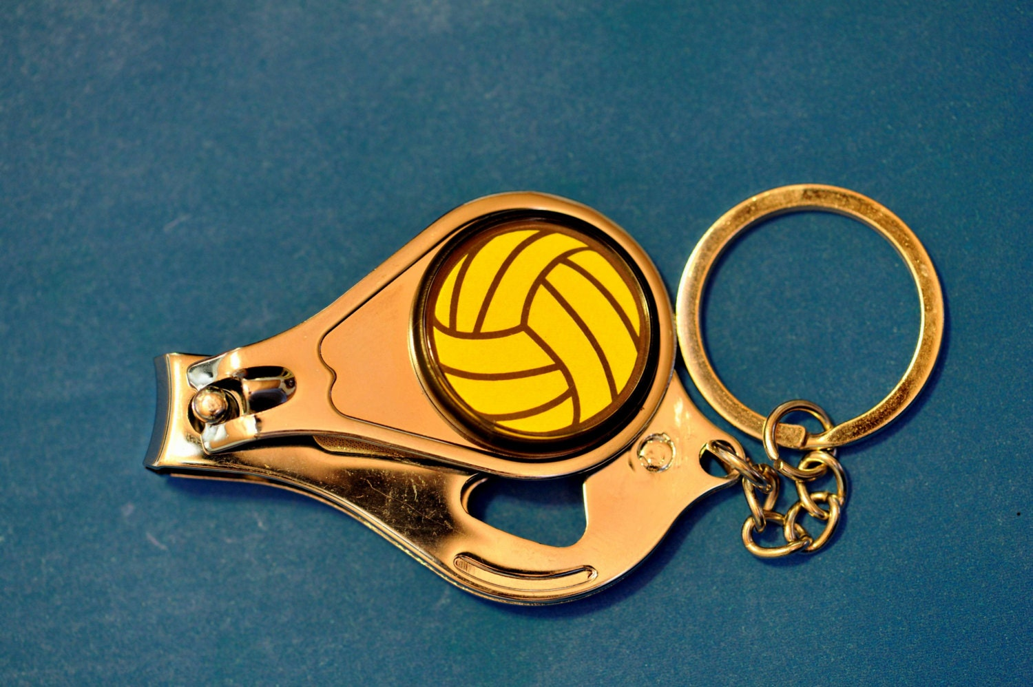 Water Polo Ball Nail Clippers/Bottle Opener/Keychain