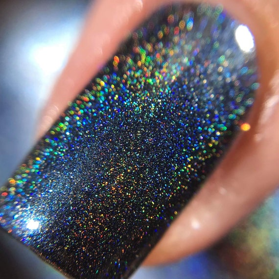 Da Dell - Holo Dark Navy Blue Linear Holographic Nail Polish from ...
