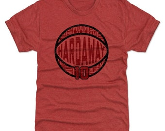 Tim Hardaway Shirt | Miami Throwbacks | Men's Premium T-Shirt | Tim Hardaway Jumpball R