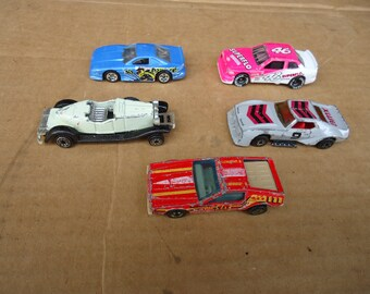 vintage  die-cast lot cars,chevy lumina,mustang cobra,stutz bearcat,etc..;