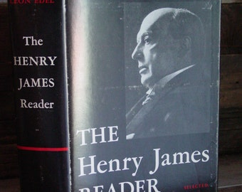 The Henry James Reader Edited By Leon Edel 1970s Vintage Hardcover In Dustjacket American Classics Literature Short Stories