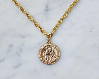 Britta Coin Necklace