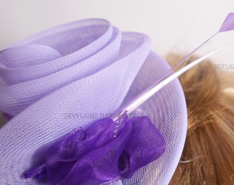 Ultra feminine headband FASCINATOR