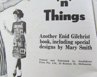 Pinnies and Things - A Vintage Sewing Projects Booklet from Enid Gilchrist