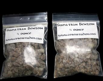 Benzoin Resin Incense with FREE charcoal - Sumatran Benzoin - aromatherapy, religious ritual, air freshener, energy cleanser, loban