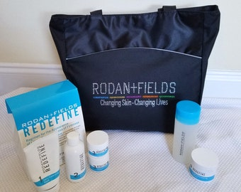Corporate Tote with Rhinestones Rodan Fields Business Bag Holiday Gift