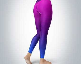 Circuit Fractal - Womens Yoga Pants/Leggings