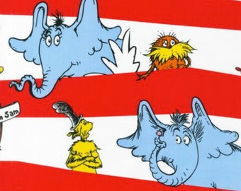 Celebrate Seuss - Striped Characters Celebration by Dr. Seuss from Robert Kaufman