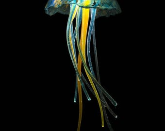 Jellyfish Pendant with LED Light