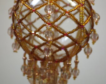 037. Beaded Ornament Cover