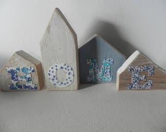 """Four houses Driftwood """"Scandinavian spirit"""""""