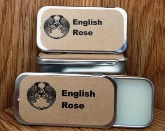 English Rose Solid Perfume Balm