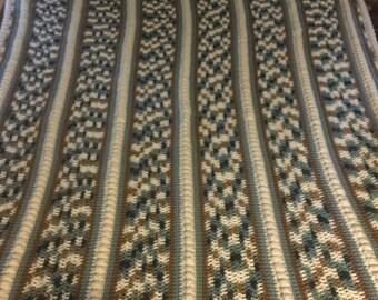 Puff stitch and panels