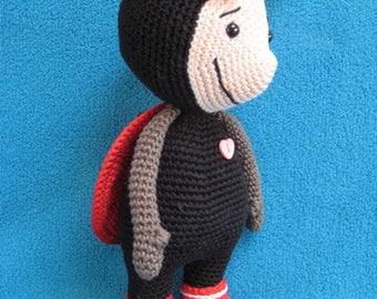 Amigurumi Ladybug Lynn Animal Ladybird Toy Doll Crochet Pattern PDF