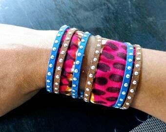 Summer Cuff Handmade Bracelet