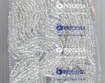 Full Half Kilo S/L Crystal Czech Preciosa Glass Seed Beads 6/0 8600 beads