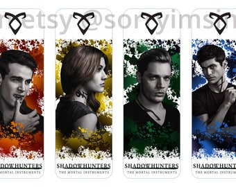Shadowhunters - The Mortal Instruments Bookmarks