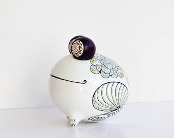 Peter Guggenbühler,  Porcelain Figurine, Frog, Herr Q, Altenkunstadt,  Das Variabile