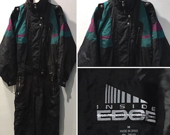 Inside Edge Vintage Ski Suit - Men's Size Medium