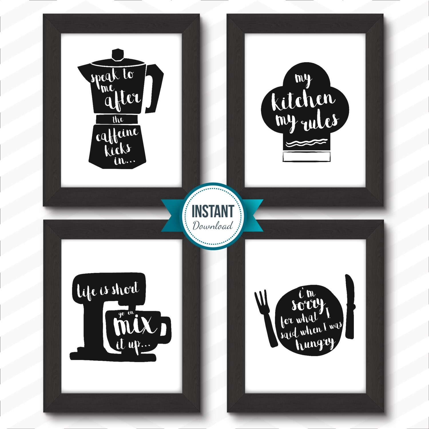 Kitchen Printables Kitchen Rules Kitchen Rules Printable